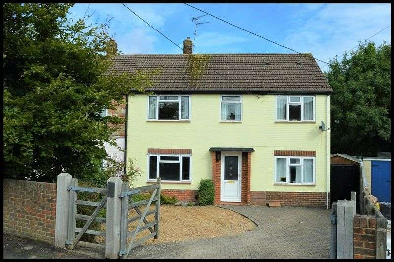 4 Bedrooms Semi Detached House for sale in Roberts Road, Hounsdown