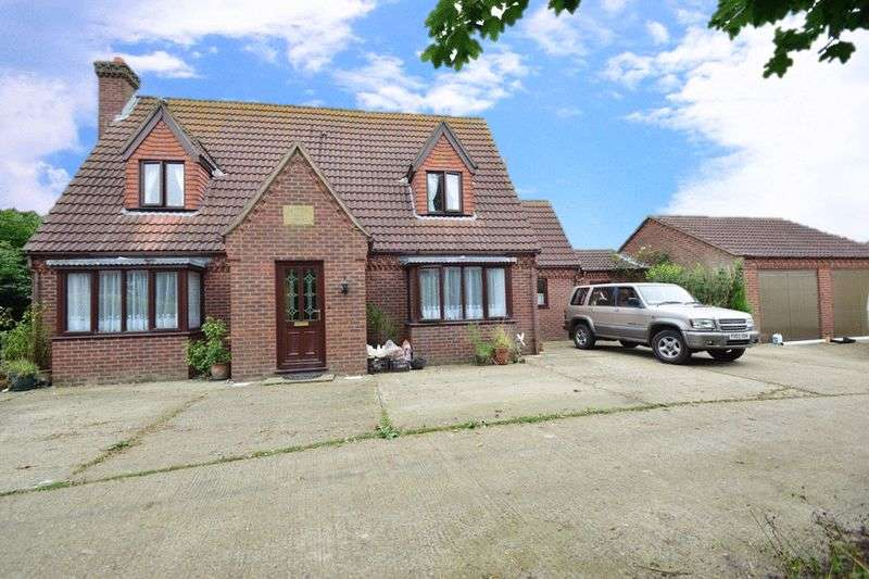 4 Bedrooms Detached House for sale in Stewton Lane, Louth