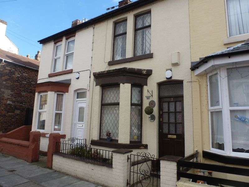 3 Bedrooms Terraced House for sale in Beechwood Road, Litherland