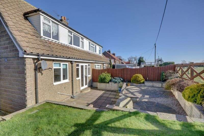 2 Bedrooms Semi Detached House for sale in Beacon Way, Sneaton
