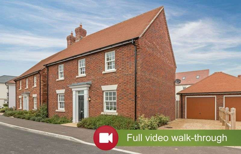 3 Bedrooms Detached House for sale in Hillrick Crescent, Yeovil