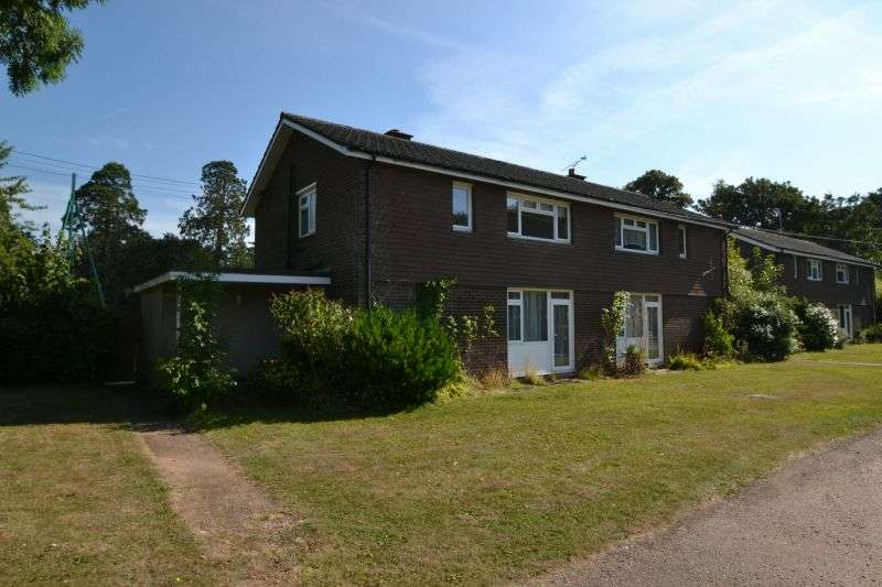 3 Bedrooms Semi Detached House for sale in THE DRIVE, BICTON, EAST BUDLEIGH, NR EXETER, DEVON