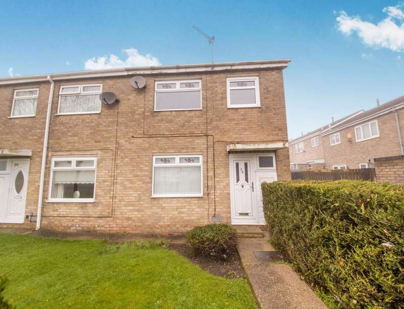 3 Bedrooms Property for sale in Chilham Court, North Shields, NE29