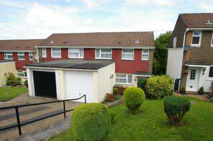 3 Bedrooms Semi Detached House for sale in Widewell, Plymouth, Devon