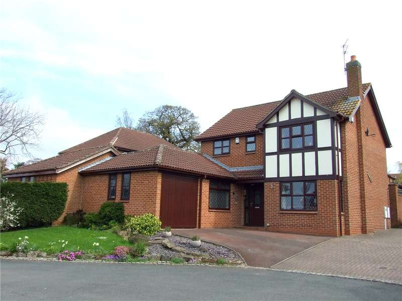 4 Bedrooms Detached House for sale in Netherwood Court, Allestree, Derby, Derbyshire, DE22