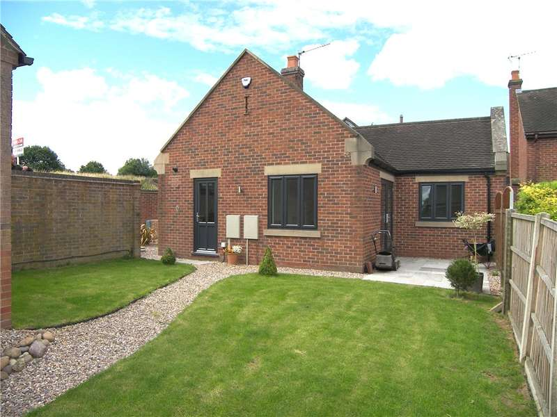 2 Bedrooms Detached Bungalow for sale in Bradshaw Drive, Holbrook, Belper, Derbyshire, DE56