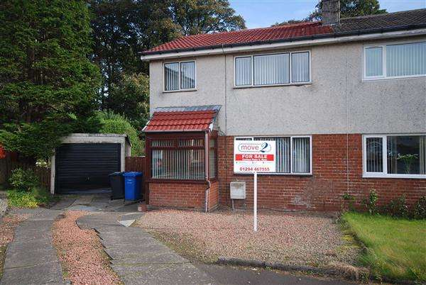 3 Bedrooms Semi Detached House for sale in St Andrews Gardens, Dalry