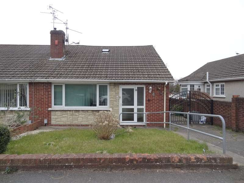 3 Bedrooms Semi Detached Bungalow for sale in Collard Crescent, Barry