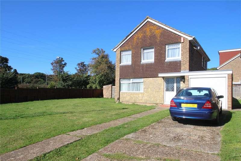 3 Bedrooms Detached House for sale in Dankton Gardens, Sompting, West Sussex, BN15