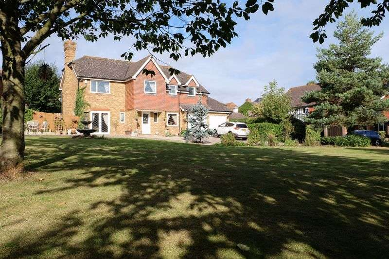 5 Bedrooms Detached House for sale in Hotham Close, Swanley Village