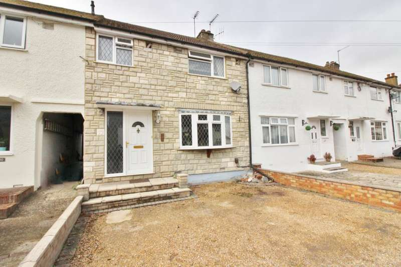 3 Bedrooms Terraced House for sale in Kings Road, London Colney, St. Albans, Hertfordshire, AL2