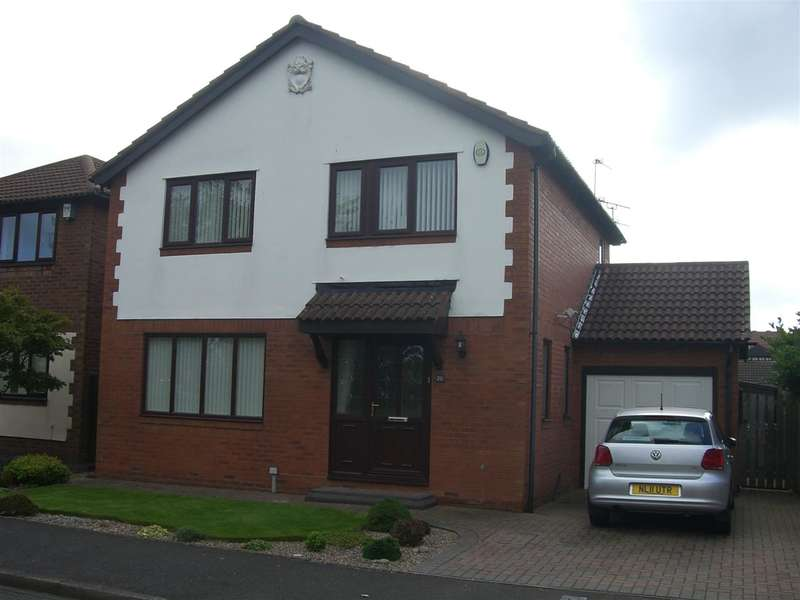 4 Bedrooms Detached House for sale in Langton Drive, Northburn Green, Cramlington