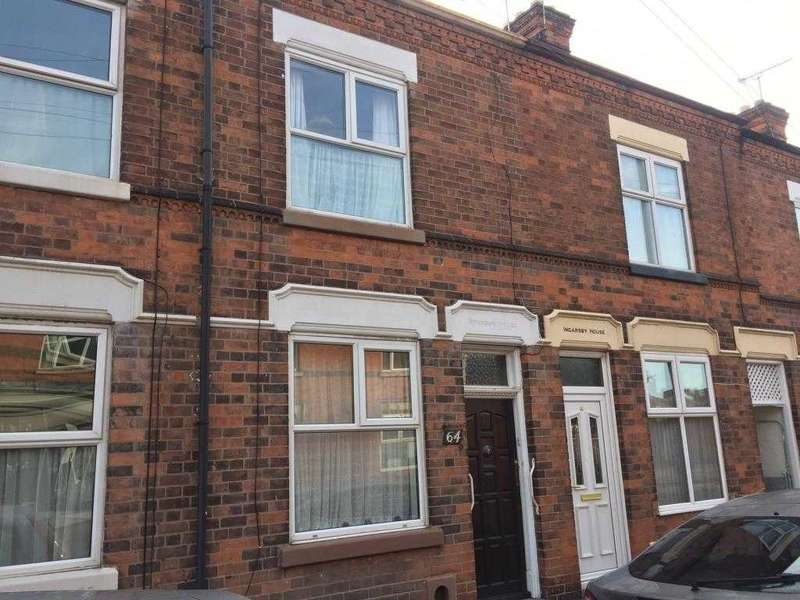 2 Bedrooms Terraced House for sale in Countesthorpe Road, Wigston
