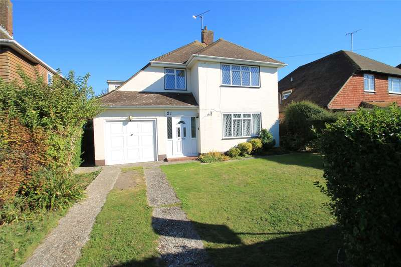 4 Bedrooms Detached House for sale in Harsfold Road, Rustington, Littlehampton, BN16