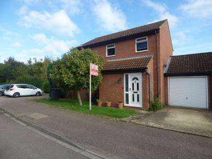 3 Bedrooms Detached House for sale in Mendip Close, Flitwick, Bedfordshire