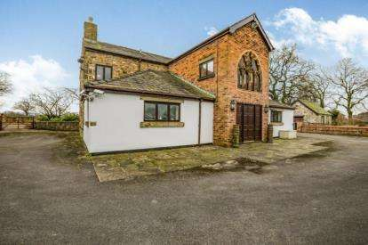 5 Bedrooms Barn Conversion Character Property for sale in Whalley Road, Samlesbury, Preston, Lancashire, PR5