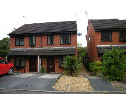 2 Bedrooms Semi Detached House for sale in Fernleigh, Northwich, Cheshire
