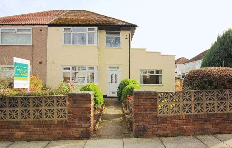 3 Bedrooms Semi Detached House for sale in Barnhurst Road, Childwall, Liverpool, L16