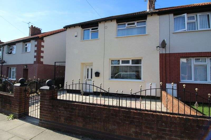 3 Bedrooms Semi Detached House for sale in Barnsbury Road, Liverpool