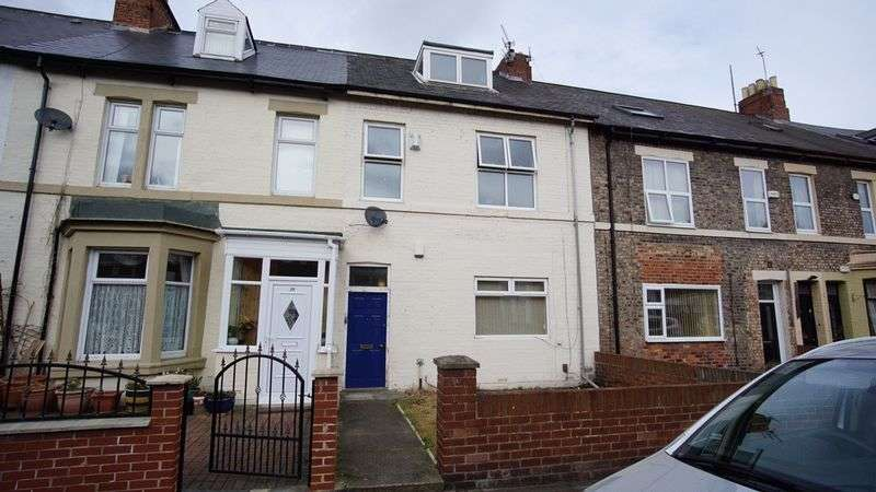 2 Bedrooms Maisonette Flat for sale in ROTHBURY TERRACE Heaton