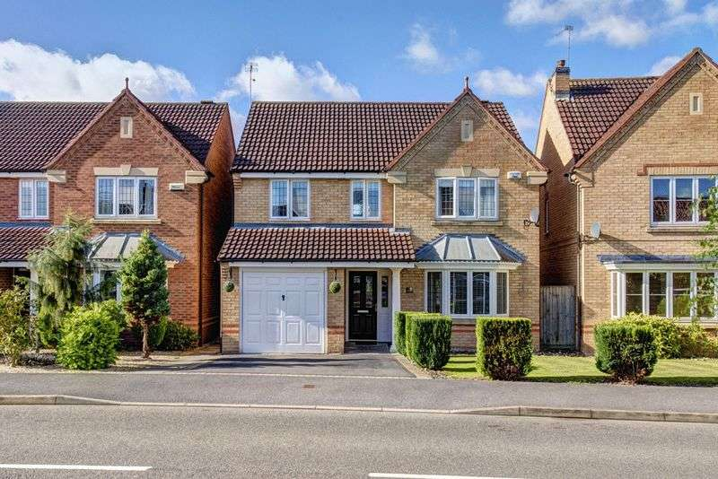 4 Bedrooms Detached House for sale in COURTWAY CRESCENT, CHELLASTON