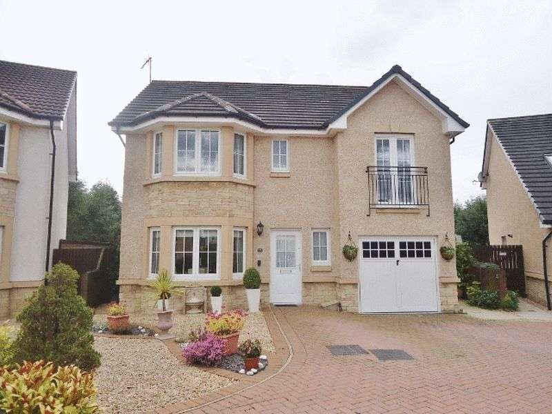 4 Bedrooms Detached House for sale in 73 SANDPIPER MEADOW ALLOA
