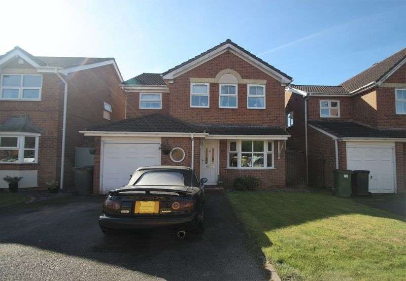 4 Bedrooms Detached House for sale in Snipe Close, Hugglescote
