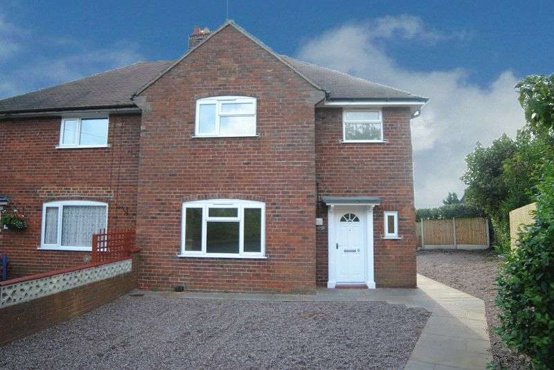 3 Bedrooms Semi Detached House for sale in The Crescent, Ashley, Market Drayton, TF9 4LL