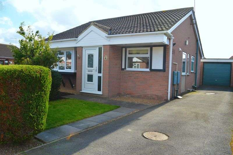 2 Bedrooms Detached Bungalow for sale in Snetterton Close, Lincoln
