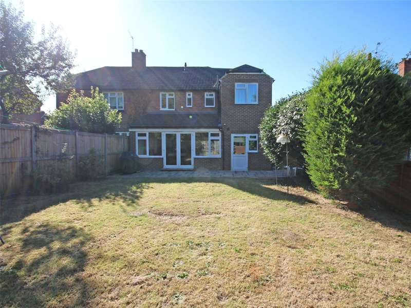 4 Bedrooms Semi Detached House for sale in Copperfield Rise, Addlestone, Surrey, KT15