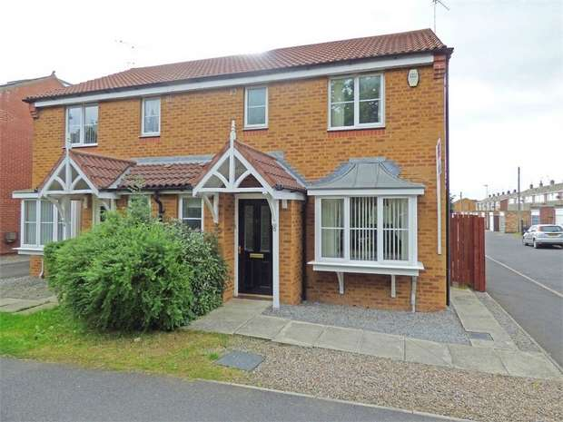 3 Bedrooms Semi Detached House for sale in Parkside Court, Ashington, Northumberland