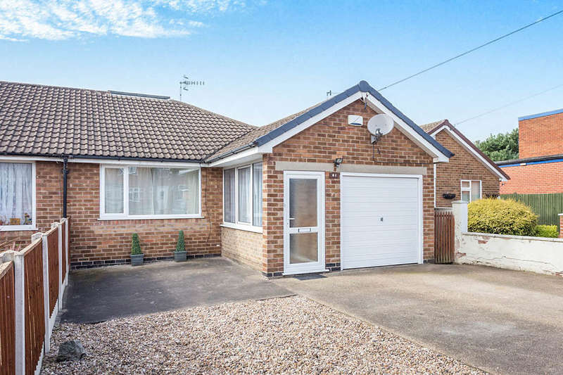 2 Bedrooms Semi Detached Bungalow for sale in Wellington Street, Stapleford, Nottingham, NG9