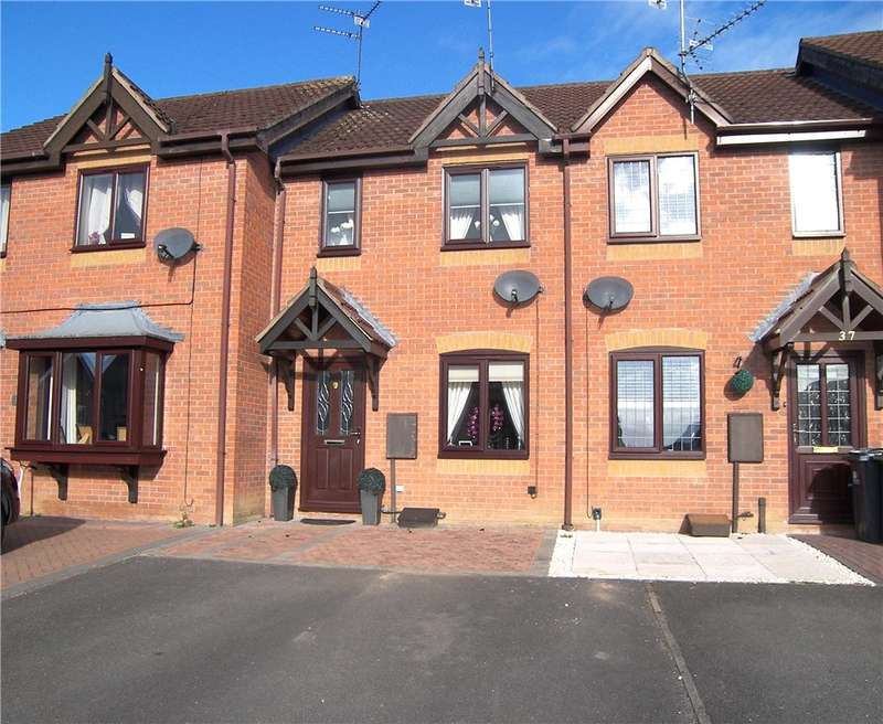 2 Bedrooms Terraced House for sale in Kingswood Avenue, Belper, Derbyshire, DE56