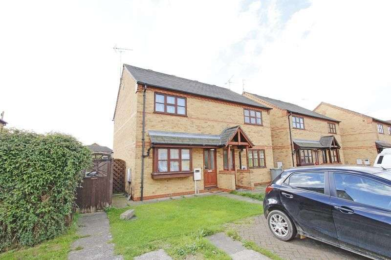 2 Bedrooms Semi Detached House for sale in Burghley Court, Bourne