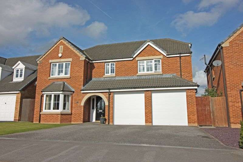 4 Bedrooms Detached House for sale in Camborne Crescent, Retford