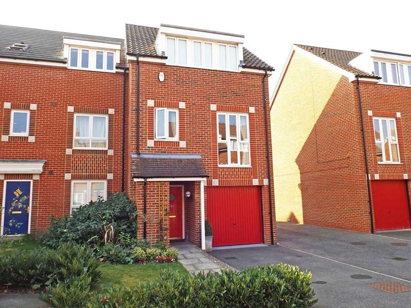 3 Bedrooms Town House for sale in SOUTHALLS WAY, NORWICH, Norfolk, NR3
