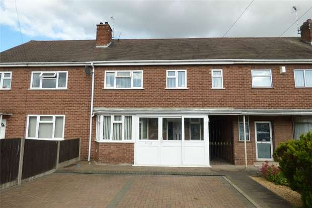 4 Bedrooms Terraced House for sale in Red Deeps, Caldwell, Nuneaton, Warwickshire