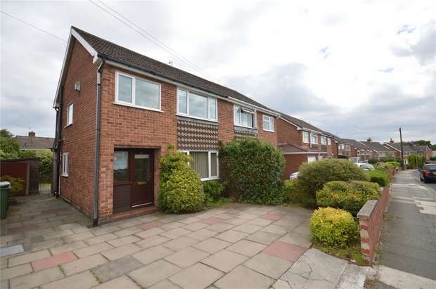 3 Bedrooms Semi Detached House for sale in Shallmarsh Road, Bebington, Merseyside