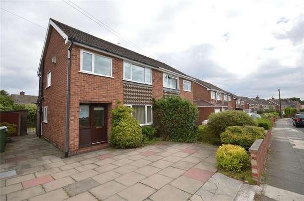 3 Bedrooms Semi Detached House for sale in Shallmarsh Road, Bebington, Merseyside