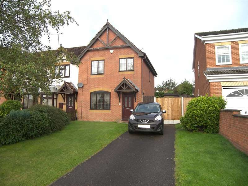 3 Bedrooms Semi Detached House for sale in Edensor Drive, Belper, Derbyshire, DE56