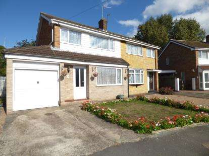 3 Bedrooms Semi Detached House for sale in Kennedy Avenue, Long Eaton, Nottingham, Nottinghamshire