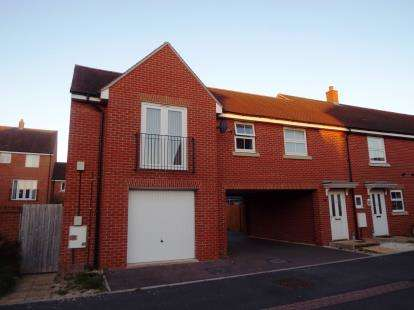2 Bedrooms Semi Detached House for sale in Boddington Drive Kingsway, Quedgeley, Gloucester, Gloucestershire