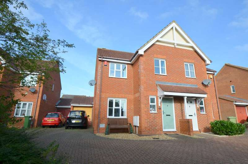 3 Bedrooms Semi Detached House for sale in Tattenhoe