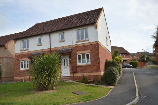3 Bedrooms Semi Detached House for sale in Wordsworth Close, Exmouth, Devon