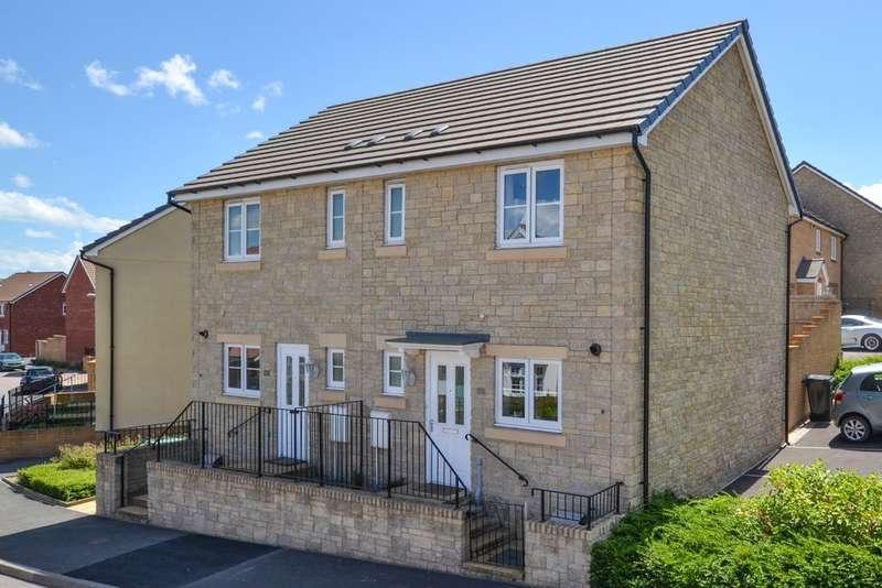 2 Bedrooms Semi Detached House for sale in Meadow Rise, Highweek
