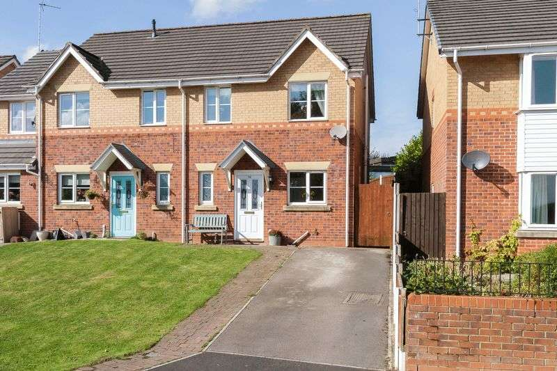 3 Bedrooms Semi Detached House for sale in David Street, Castle, Northwich