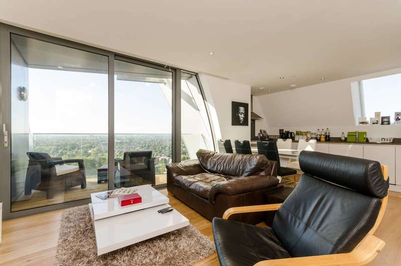 2 Bedrooms Flat for sale in Arc Tower, Ealing, W5