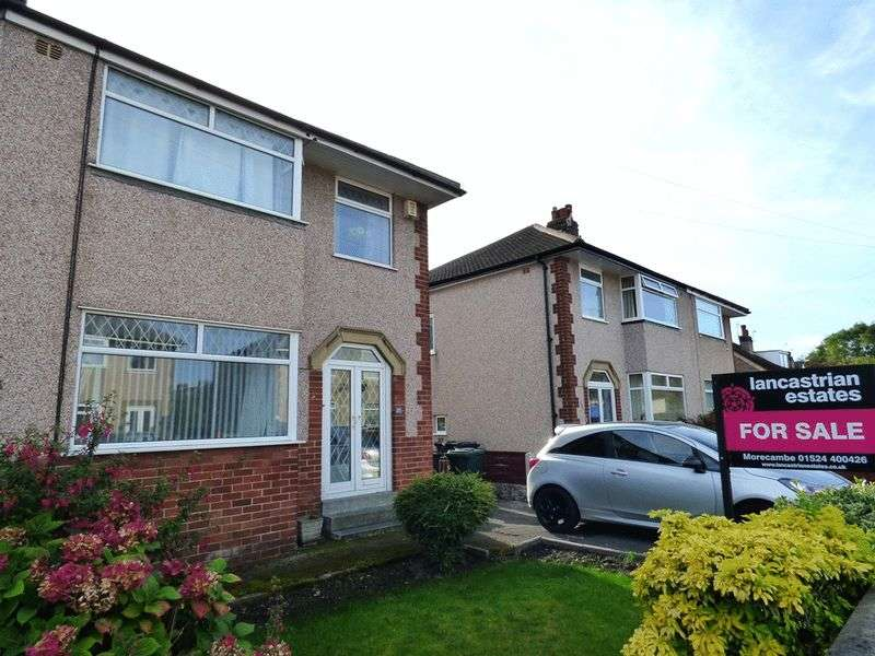 3 Bedrooms Semi Detached House for sale in Corringham Road, Morecambe