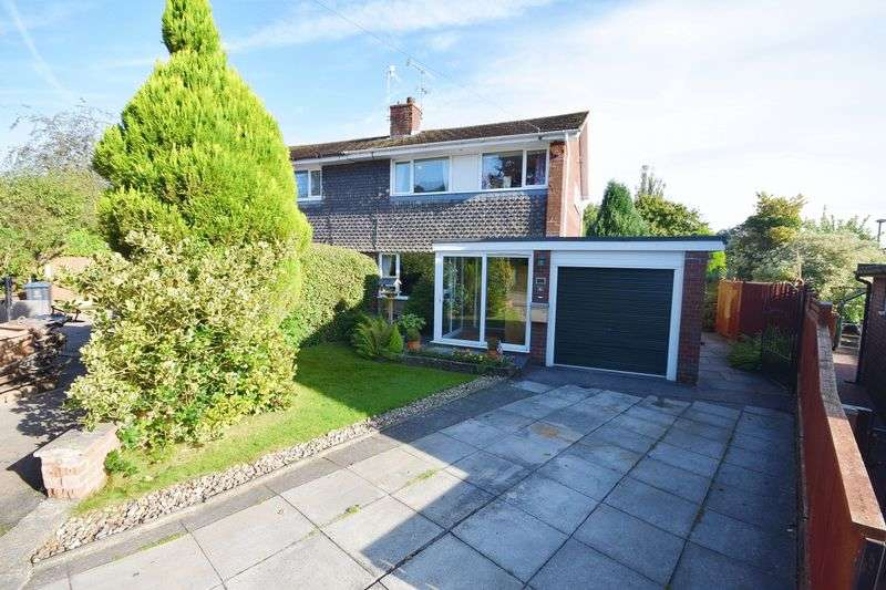 3 Bedrooms Semi Detached House for sale in Brook Close, Endon