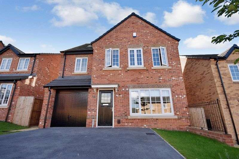 4 Bedrooms Detached House for sale in Mackie Road, Crigglestone